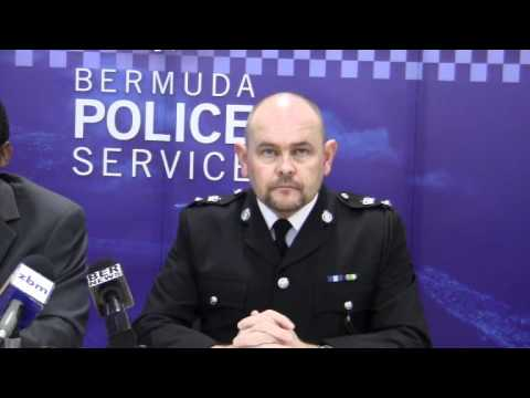 Supt. Martin Weeks On Hand Held Devices Policing Bermuda December 30 2011