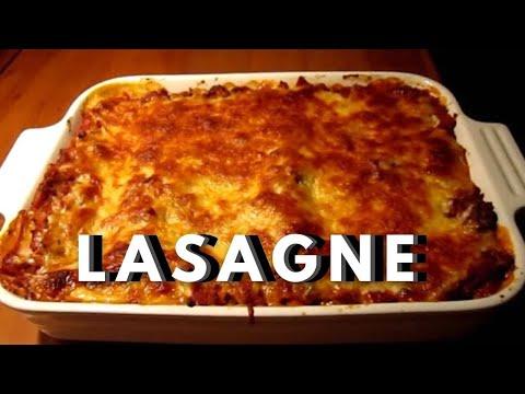 lasagne la bolognaise et au b chamel faite maison recette 2 youtube. Black Bedroom Furniture Sets. Home Design Ideas