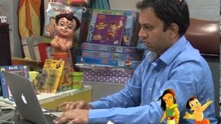 Chota Bheem from Green Gold Animations | Chota Bheem and the Throne of Bali | Hybiz TV screenshot 4