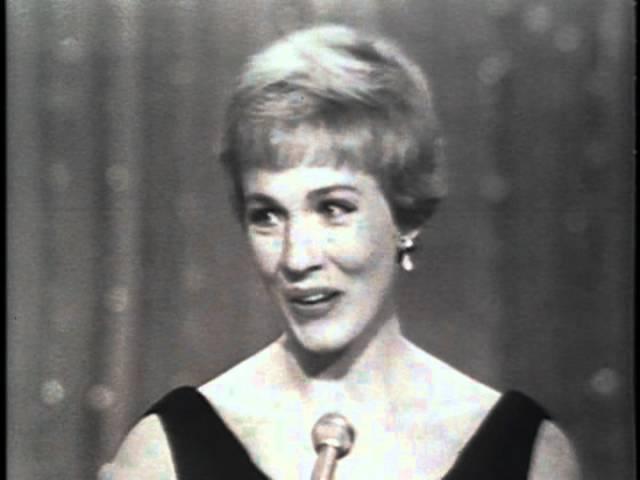 Julie Andrews - Golden Globes Acceptance Speech - Mary Poppins (1964)