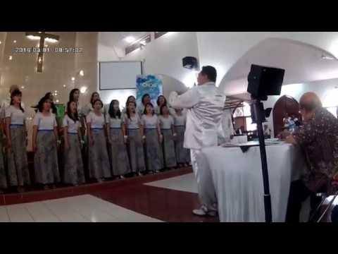 Penampilan Saat Lomba Di GPIB Pelita Hidup Choir Competition 2016