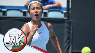 Pinay tennis sensation Alex Eala sasabak sa panibagong tournament | TV Patrol