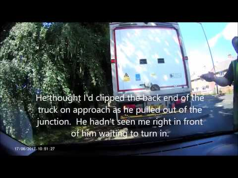 PUG 206 Hit By HGV