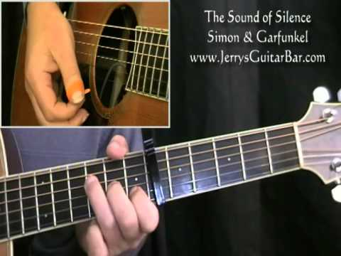 How To Play Simon & Garfunkel The Sound of Silence (full lesson)