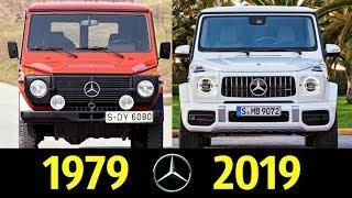 Mercedes-Benz Gelandewagen - Эволюция (1979 - 2019) ! История Модели !
