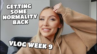 VLOG WEEK 9 | GETTING SOME NORMALITY BACK