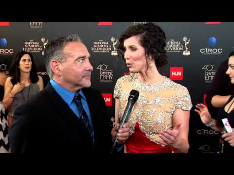 Heather Roop at the 40th annual Daytime Emmy Awards