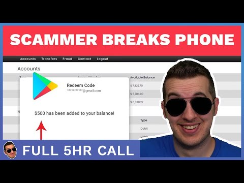 Scammer Broke His Phone After Losing $2K (Full 5h Call)