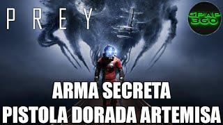 Video de Prey   Pistola dorada Artemisa (Arma secreta)