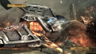 Metal Gear Rising - MG Ray 2nd Boss Fight - Revengeance Difficulty - No Damage - S Rank