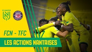 VIDEO: FC Nantes - Toulouse FC : les meilleures actions nantaises