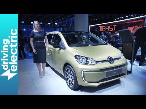 Kc Auto Show 2020.New Volkswagen E Up With 160 Mile Range Frankfurt Motor Show Drivingelectric
