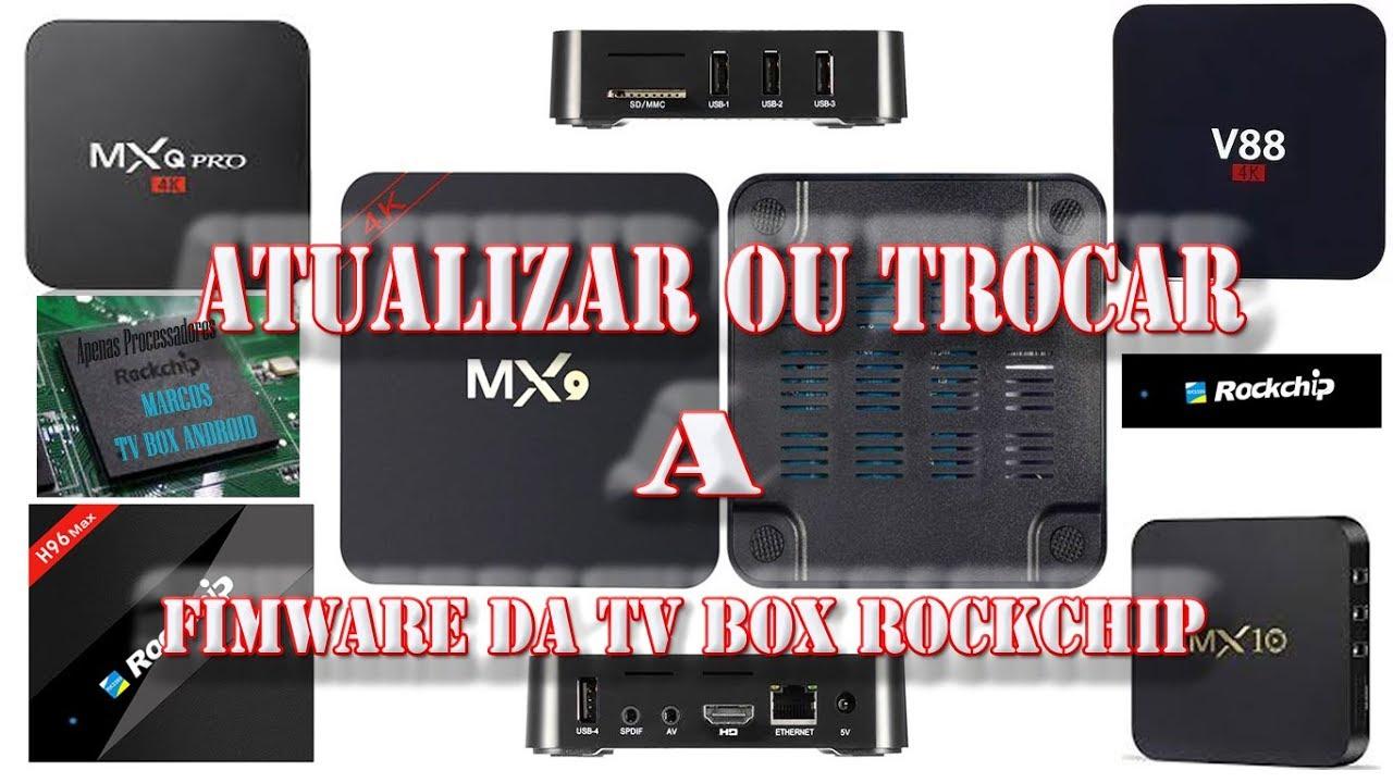 Trocar/Atualizar a firmware da MX9 (cabo usb)  Base para qualquer outra box  com processador ROCKCHIP