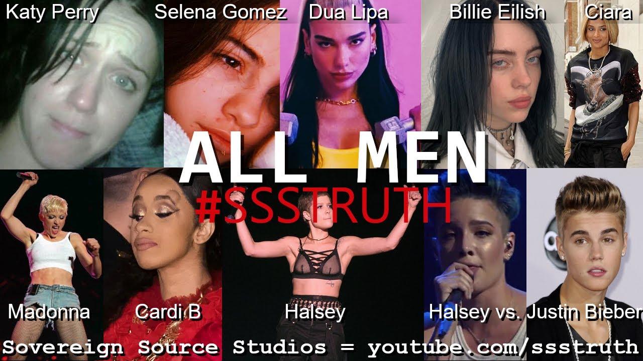 ALL MEN = Lady Gaga Dua Lipa Alicia Keys Halsey Katy Perry Transgender Transvestigation #Jokes on us