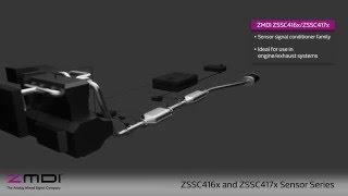 ZSSC416x/7x Sensor Signal Conditioners Automotive Overview