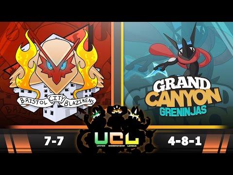 Pokemon ORAS WiFi Battle | Bristol City Blazikens vs Grand Canyon Greninjas | UCL W15S2
