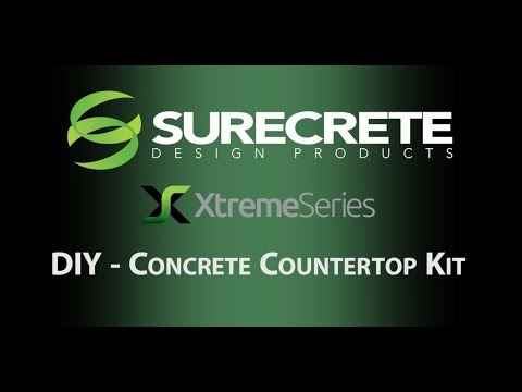 Concrete Countertops Kit Do It Yourself