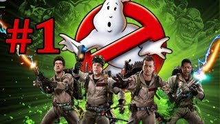 Let's Play - Ghostbusters The Video Game #1 Der Neue [GERMAN]
