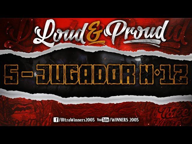 WINNERS 2005 - LOUD & PROUD 2020 - 5 - JUGADOR N°12