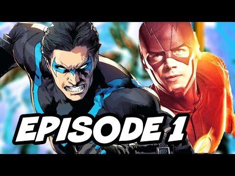 Titans Nightwing DCTV Series Episode 1 Cast Breakdown