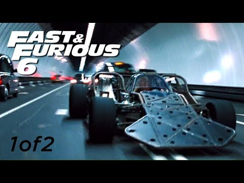 Flip Car Chase 1of2 - FAST and FURIOUS 6 (Flip Car vs BMW M5) 1080p