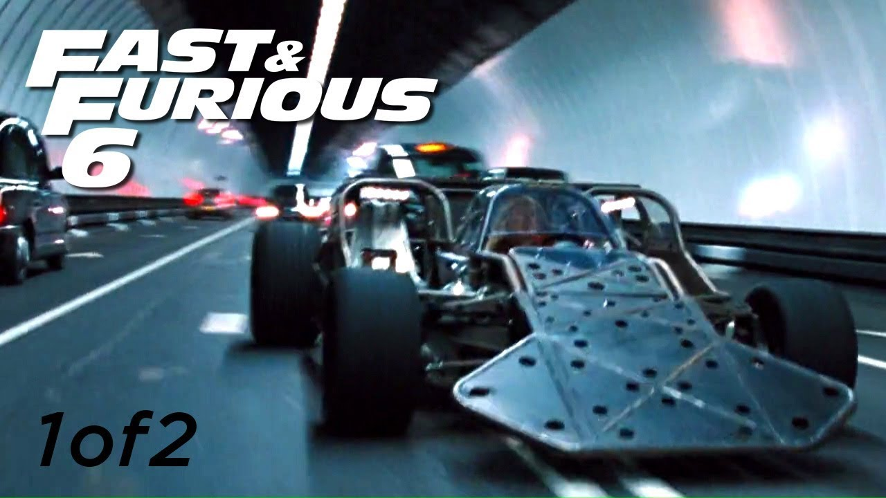 Download Flip Car Chase 1of2 - FAST and FURIOUS 6 (Flip Car vs BMW M5) 1080p