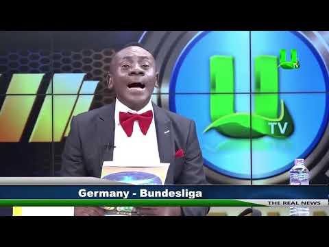 Ghanaian news presenter reading Bundesliga results goes viral