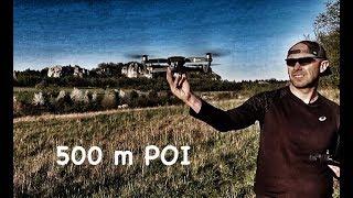 DJI MAVIC PRO II 500 M POI english captions
