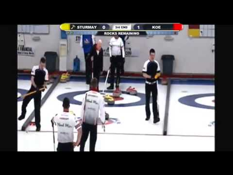 Pomeroy Inn & Suites Prairie Showdown: Kevin Koe vs Karsten Sturmay