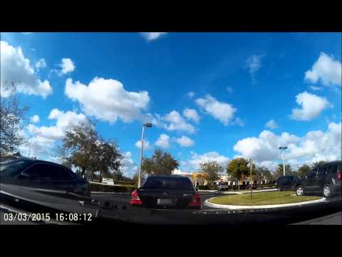 License Plate L14QV Idiot driver in Sunrise, Florida
