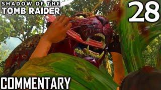 Shadow Of The Tomb Raider Walkthrough Part 28 - Tree Of Life Challenge Tomb & Empress Jaguar