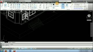 3d Autocad Modeling Home Plan Design Stair Ground & Layering Object-part#9