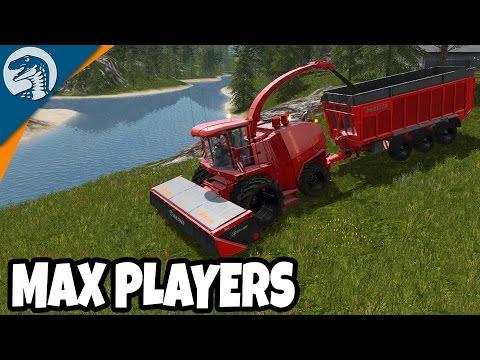 FULL SIZED FARM CREW   Farming Simulator 17   Multiplayer Gameplay