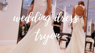 Come Wedding Dress Shopping with Me!   #BloomingBride   Ashley Bloomfield   Kleinfelds Canada