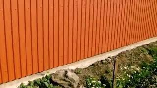 видео Заборы Откатные ворота