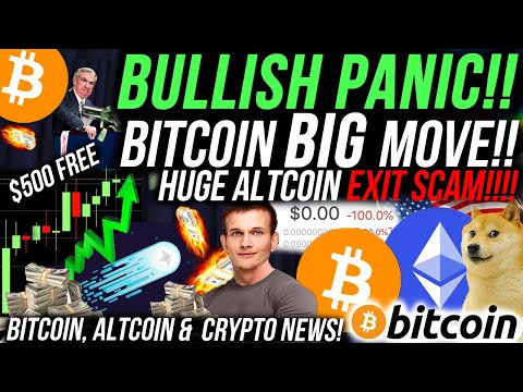 BITCOIN HUGE PRICE MOVE!!!🚨 TIME TO BUY ETHEREUM?! ALTCOIN DUMPS 100% IN 1 SECOND!!! Crypto News