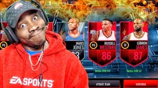 OPENING 80 PRO PACKS! PACK ADDICT NOT GOING TO REHAB! NBA Live Mobile 16 Gameplay Ep. 61