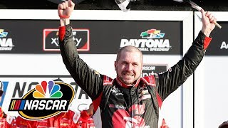 NASCAR Xfinity Series: Michael Annett powers his way to win at Daytona | Motorsports on NBC