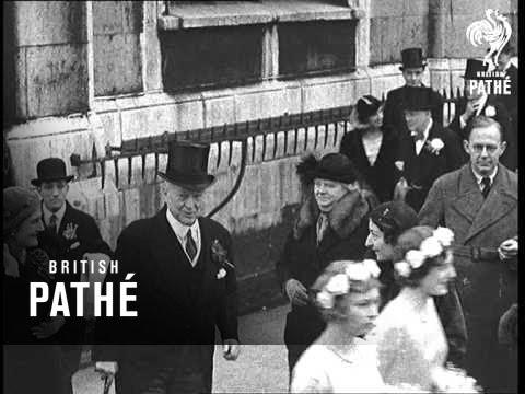 The Churchill Wedding 1932