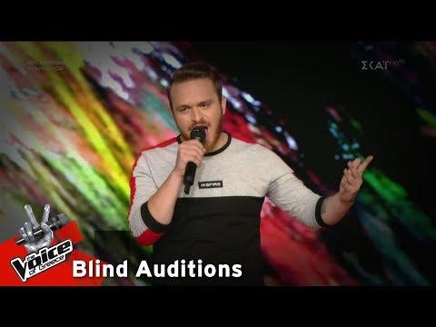 Αντώνης Αθανασίου - Ο Άμλετ της Σελήνης | 10o Blind Audition | The Voice of Greece