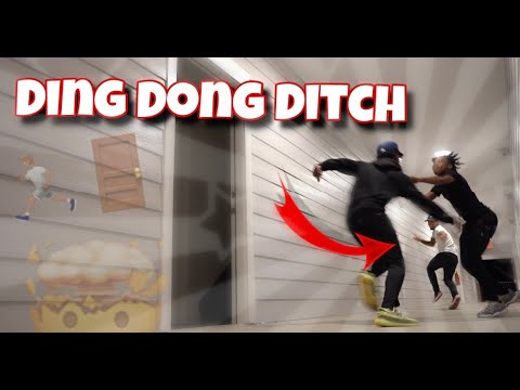 EXTREME DING DONG DITCH!!! | COLLEGE EDITION *GONE COMPLETELY WRONG* |