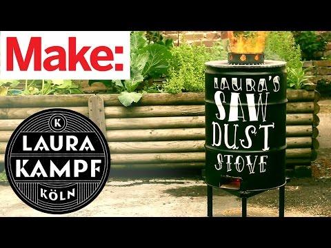 Laura Kampf's Sawdust Stove