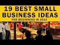 19 Small Business Ideas for Beginners in 2019