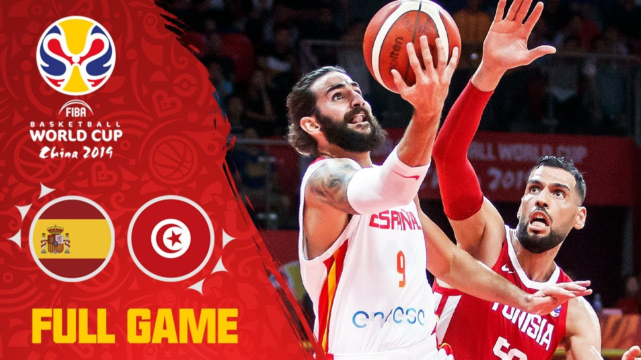 Spain DOMINATE Tunisia to start the FIBAWC! - Full Game