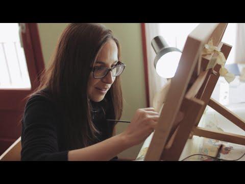 Un día en la vida de la artista Cinta Vidal | Proyecto Hoy