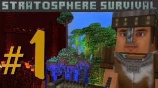Minecraft - Stratosphere Survival с Карном. Часть 1