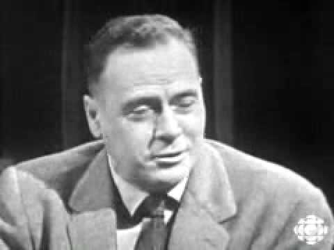 Marshall McLuhan - The World is a Global Village (CBC TV)