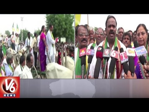 Munnuru Kapu Simhagarjana Rally In Vemulawada | Rajanna Sircilla District | V6 News