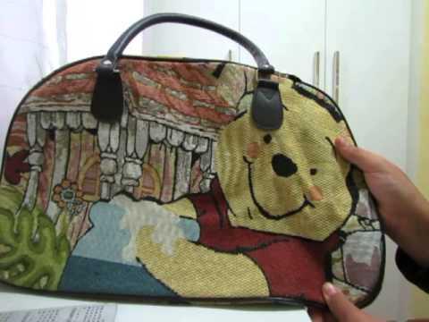 82e382c71 Aliexpress: Bolsa do ursinho Pooh - YouTube