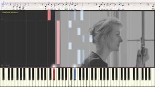 Жить в твоей голове - Земфира (Ноты и Видеоурок для фортепиано) (piano cover)